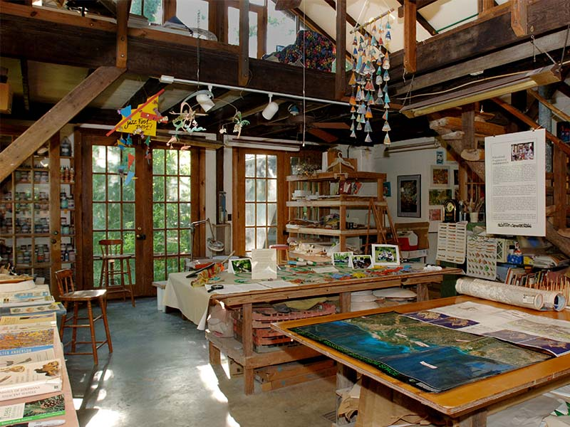 Photo of A Studio in the Woods art studio space